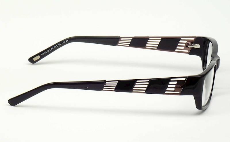 Oprawa okularowa QR1010 C05 Quara - czarny/brąz