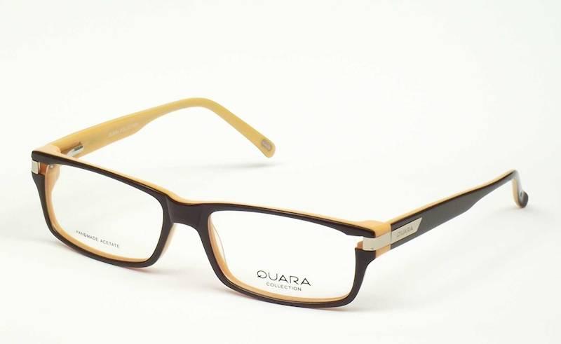 Oprawa okularowa QR1009 C07 Quara - czarny/pomarań