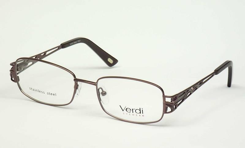Oprawa okularowa VD1170 C02 Verdi - brąz/czarny