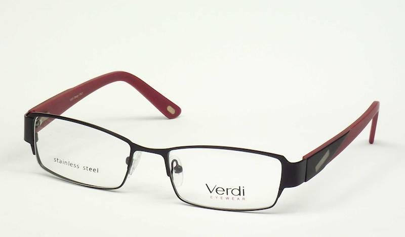 Oprawa okularowa VD1169 C03 Verdi - czarny/burgund