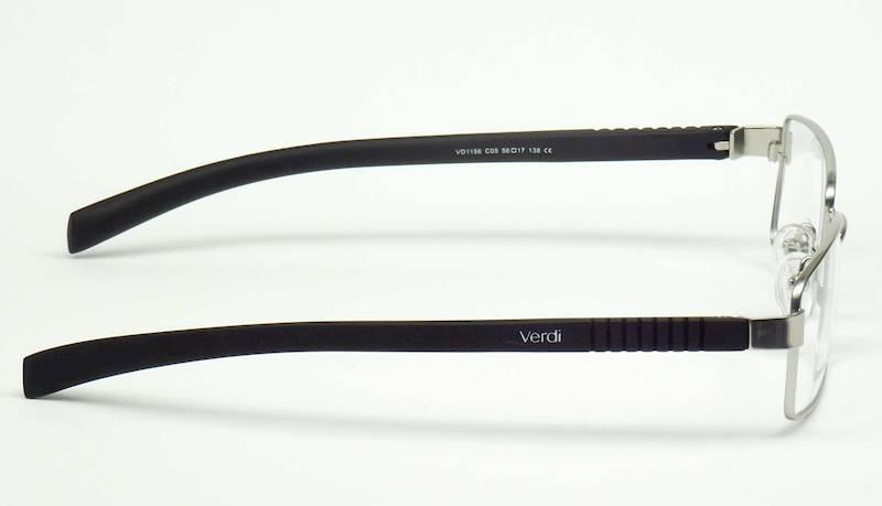 Oprawa okularowa VD1156 C05 Verdi - srebrny/czarny