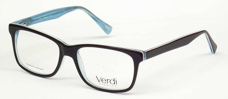 Oprawa okularowa VD1172 C02 Verdi - czarny/turkus