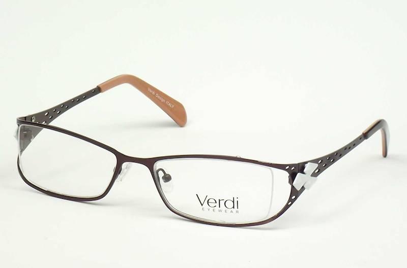 Oprawa okularowa VD1430 C02 Verdi - brąz/biały