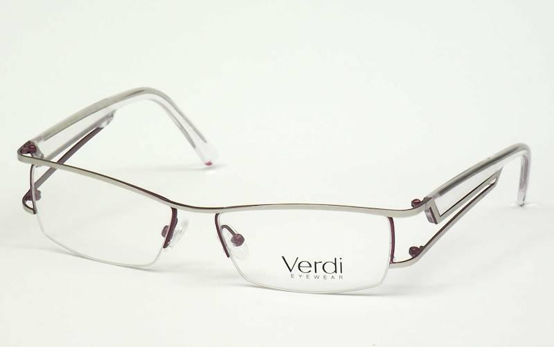 Oprawa okularowa VD1428 C01 Verdi - srebro/transp