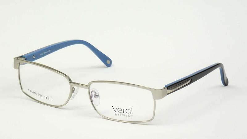 Oprawa okularowa VD1228 C04 Verdi - srebro/cza/nie