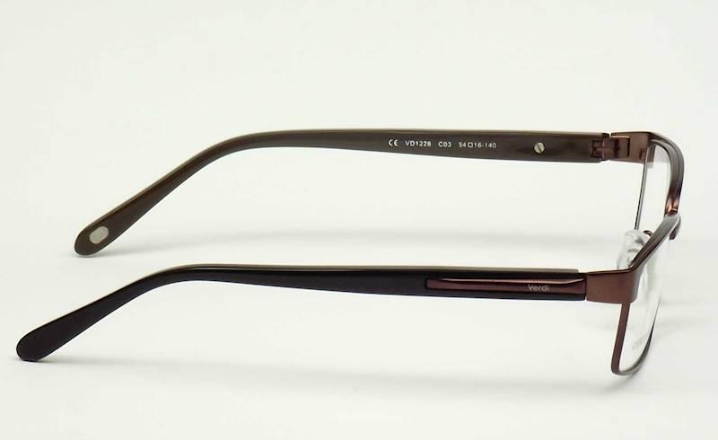 Oprawa okularowa VD1228 C03 Verdi - brąz/czarny