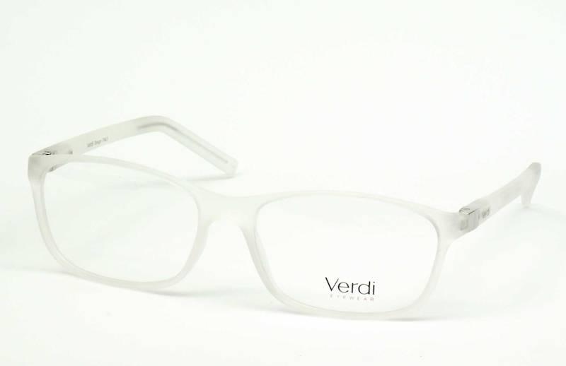 Oprawa okularowa VD1521 C03 Verdi - biały-transpar