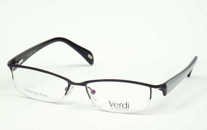 Oprawa okularowa VD1524 C02 Verdi - czarny/biały
