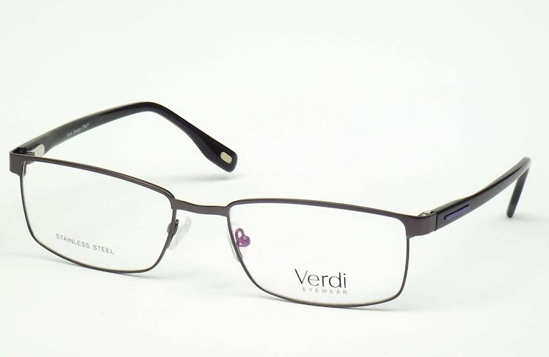 Oprawa okularowa VD1522 C02 Verdi - gun/czarny/nie