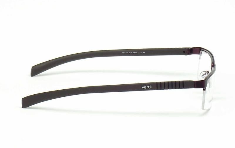Oprawa okularowa VD1155 C10 Verdi - śliwkowy/brąz