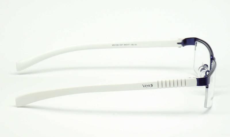 Oprawa okularowa VD1155 C07 Verdi - niebiesk/biały