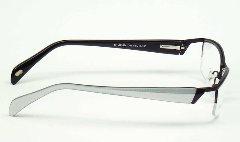 Oprawa okularowa VD1524 C01 Verdi - czarny/biały