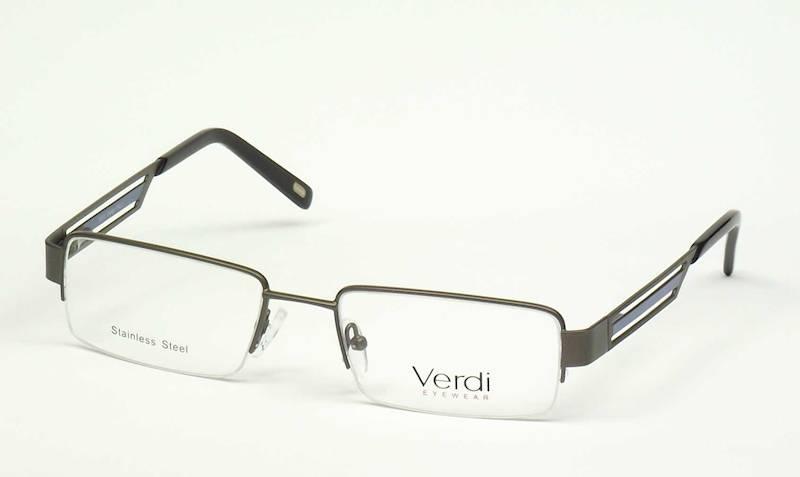 Oprawa okularowa VD1173 C02 Verdi - gun/niebieski