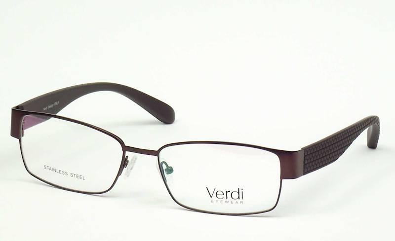 Oprawa okularowa VD1519 C02 Verdi - kasztanow/brąz