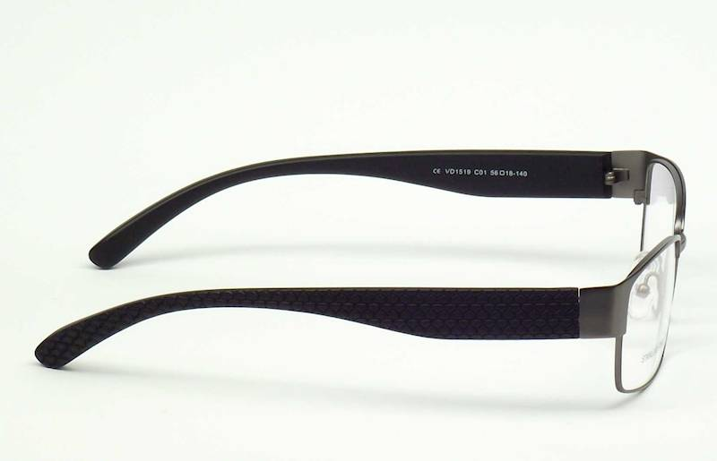 Oprawa okularowa VD1519 C01 Verdi - gun/czarny