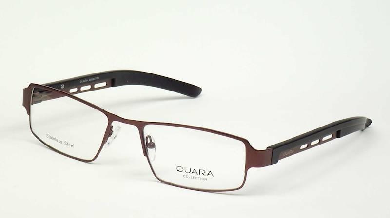 Oprawa okularowa QR1030 C05 Quara - brąz/czarny