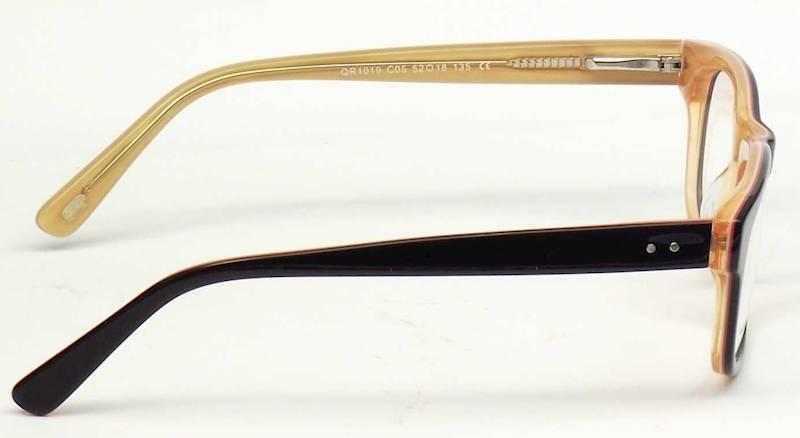 Oprawa okularowa QR1019 C05 Quara - czarny/łosoś