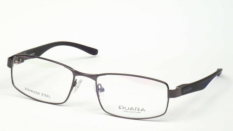 Oprawa okularowa QR1210 C02 Quara - gun\niebieski
