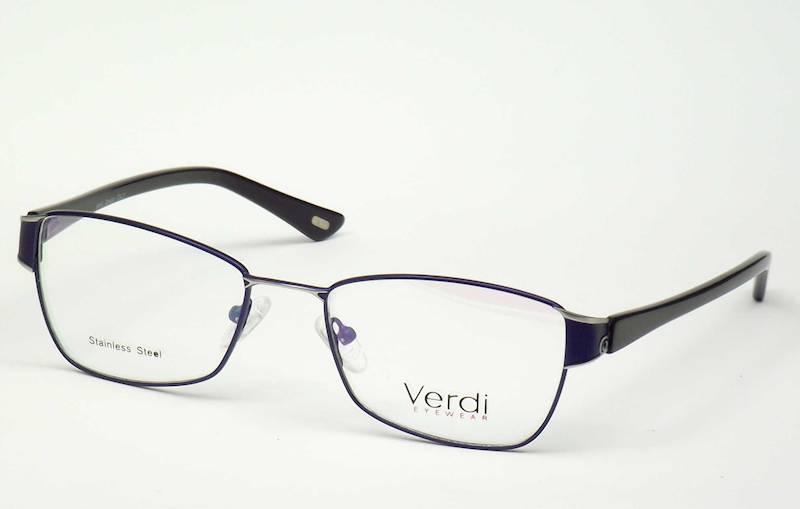 Oprawa okularowa VD1184 C03 Verdi - granat\czarny