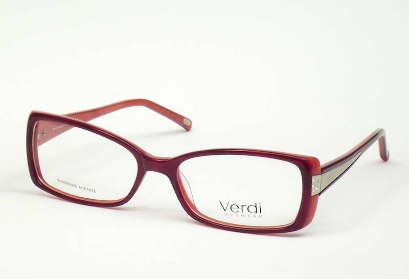 Oprawa okularowa VD1183 C03 Verdi - czerwony
