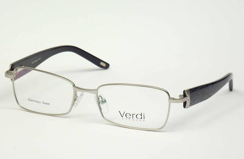 Oprawa okularowa VD1181 C01 Verdi - srebrny\granat