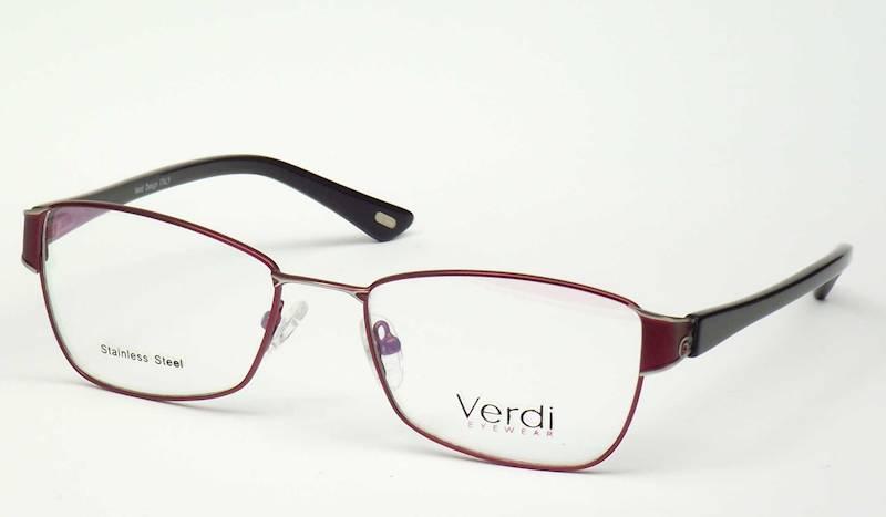 Oprawa okularowa VD1184 C02 Verdi - burgund\czarny