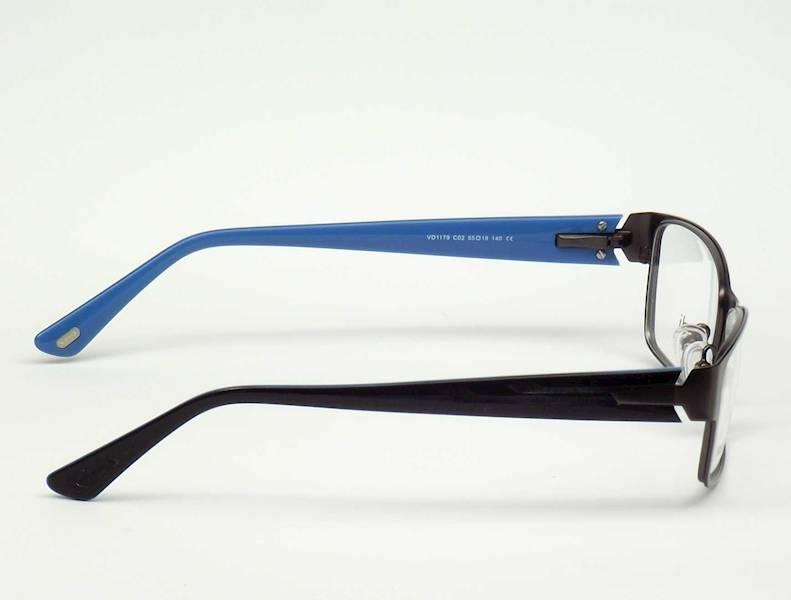 Oprawa okularowa VD1179 C02 Verdi - gun\niebieski