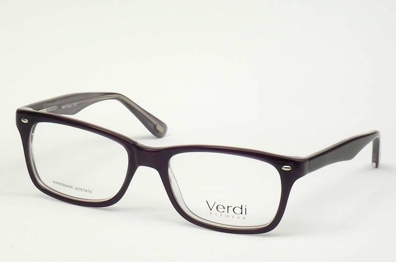 Oprawa okularowa VD1175 C04 Verdi - ciemny fiolet
