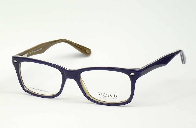 Oprawa okularowa VD1175 C01 Verdi - granat/brąz