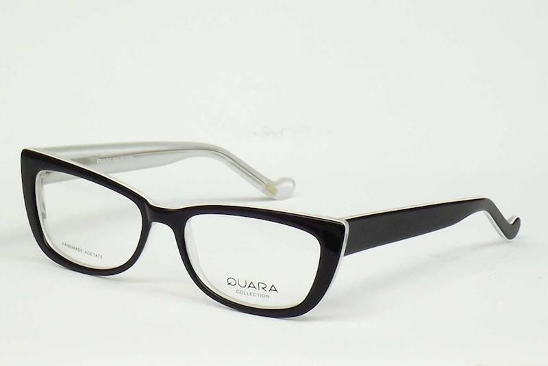 Oprawa okularowa QR1029 C04 Quara - czarny/biały
