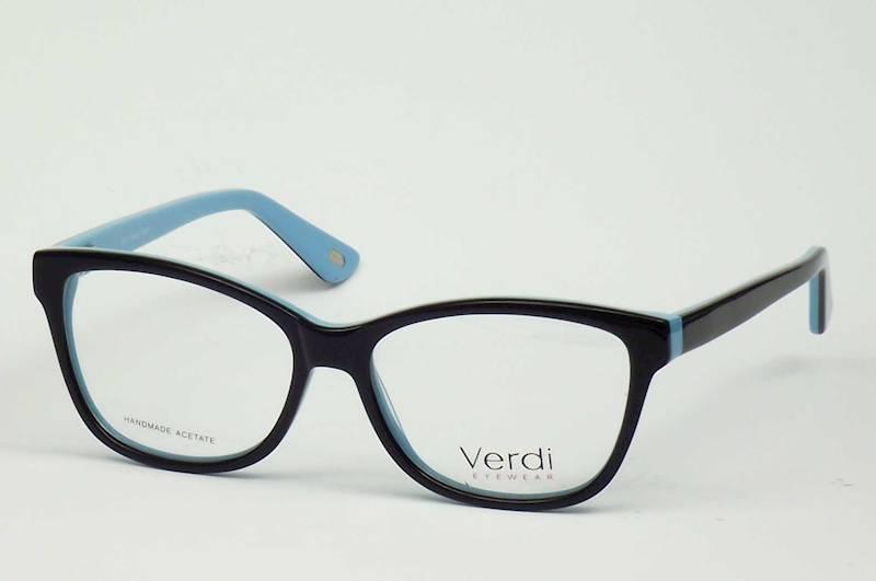 Oprawa okularowa VD1188 C01 Verdi - czarny/niebies