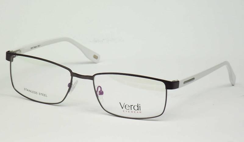 Oprawa okularowa VD1522 C06 Verdi - gun/biały