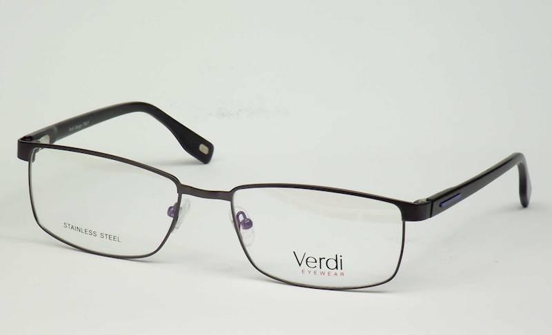 Oprawa okularowa VD1522 C05 Verdi - gun/czarny/nie