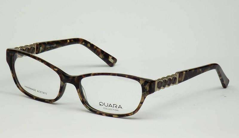 Oprawa okularowa QR1212 C01 Quara - brąz