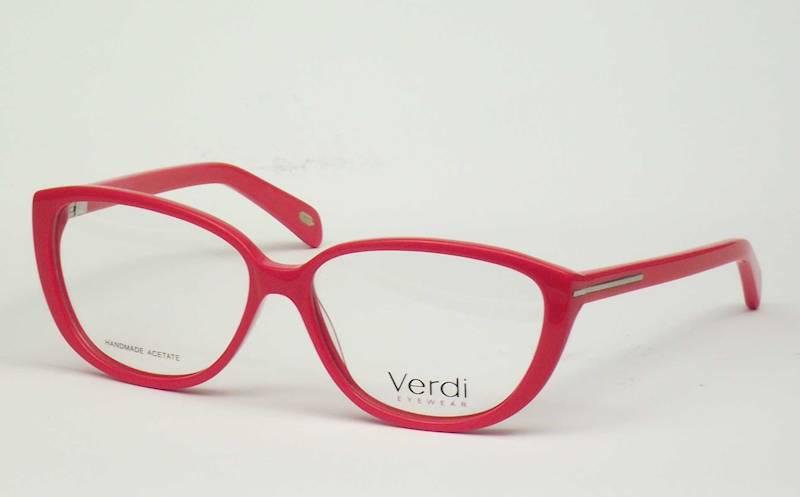 Oprawa okularowa VD1186 C03 Verdi - czerwony