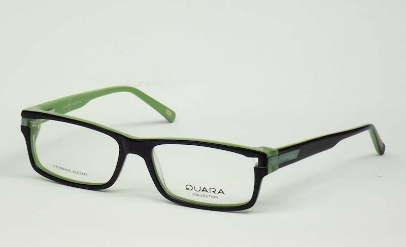 Oprawa okularowa QR1033 C04 Quara - czarny/zielony