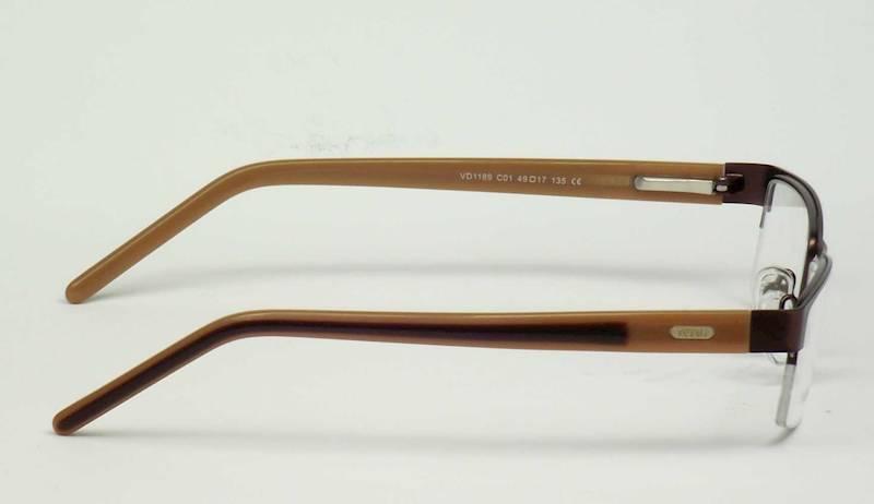 Oprawa okularowa VD1189 C01 Verdi - brązowy