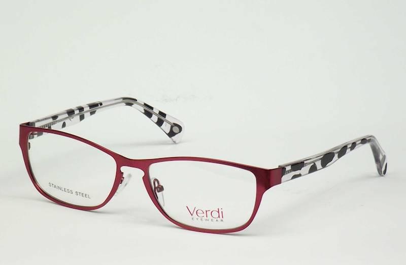 Oprawa okularowa VD1436 C02 Verdi - czerw.pantera