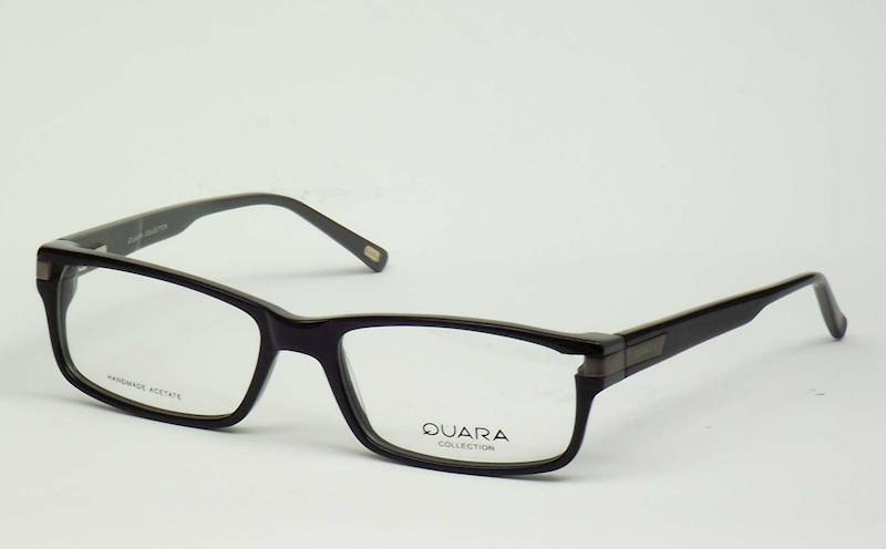Oprawa okularowa QR1034 C01 Quara - czarny/siwy