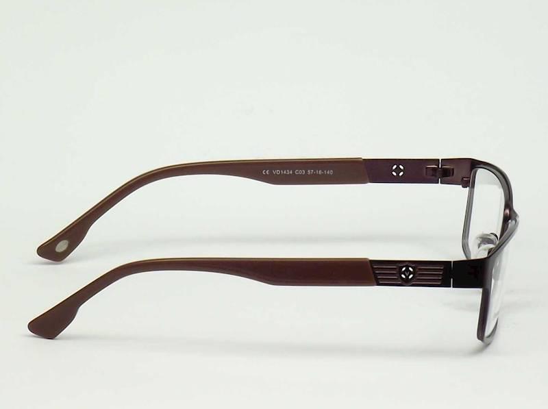 Oprawa okularowa VD1434 C03 Verdi - brązowy