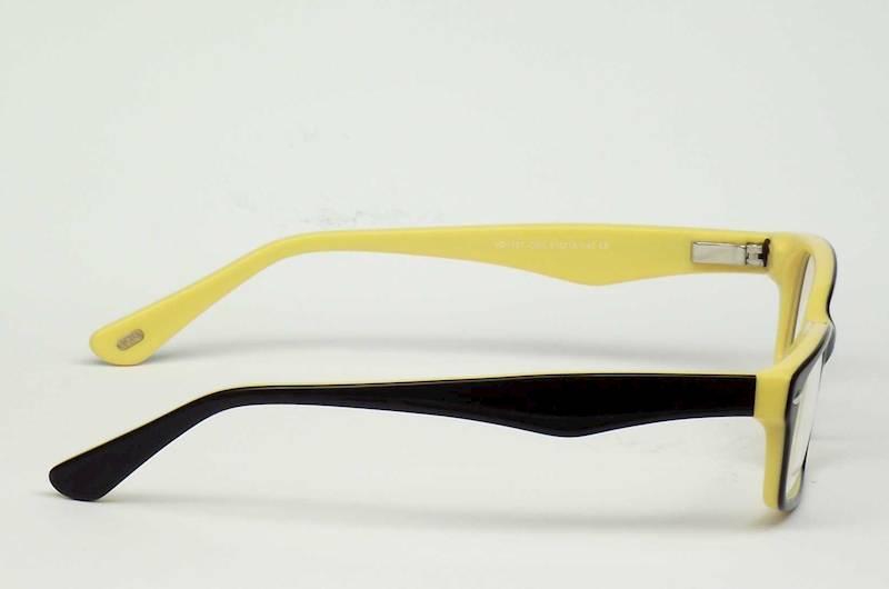 Oprawa okularowa VD1187 C03 Verdi - czarny/żółty