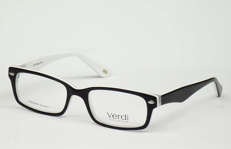 Oprawa okularowa VD1187 C01 Verdi - czarny/biały