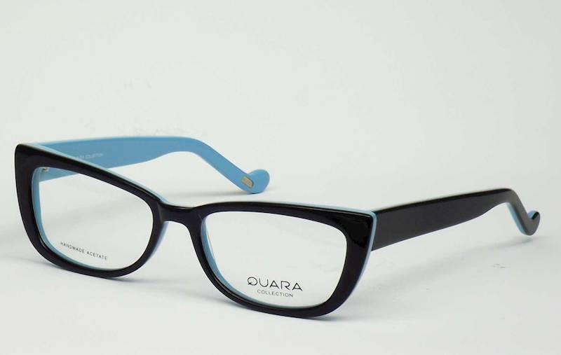 Oprawa okularowa QR1029 C07 Quara - czarny/niebie.