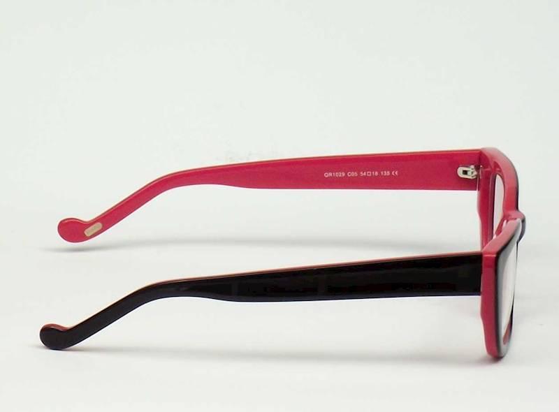 Oprawa okularowa QR1029 C05 Quara - czarny/czerwo.