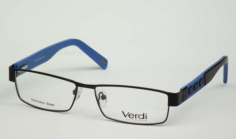 Oprawa okularowa VD1168 C09 Verdi - czarny/niebies