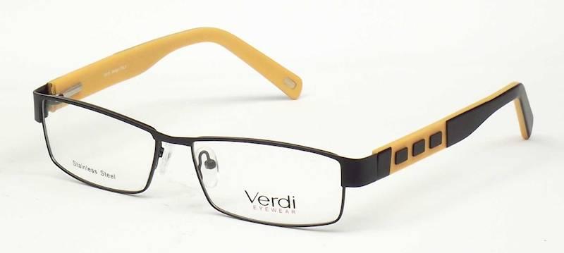 Oprawa okularowa VD1168 C08 Verdi - czarny/pomara.