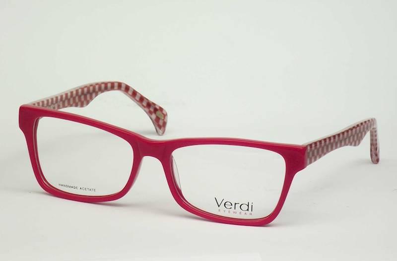 Oprawa okularowa VD1190 C02 Verdi - czer/bia szach