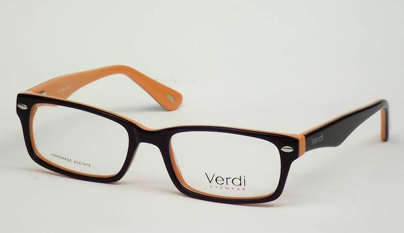 Oprawa okularowa VD1187 C06 Verdi - czarny/pomarań