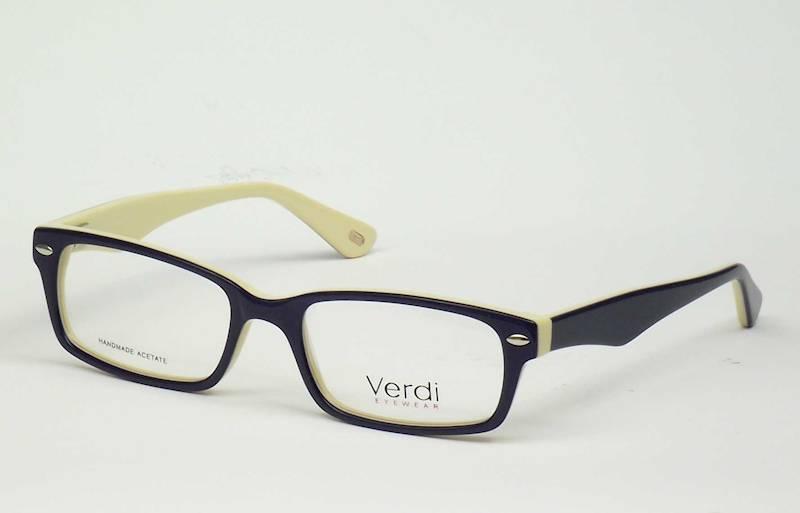 Oprawa okularowa VD1187 C05 Verdi - granat/kremowy