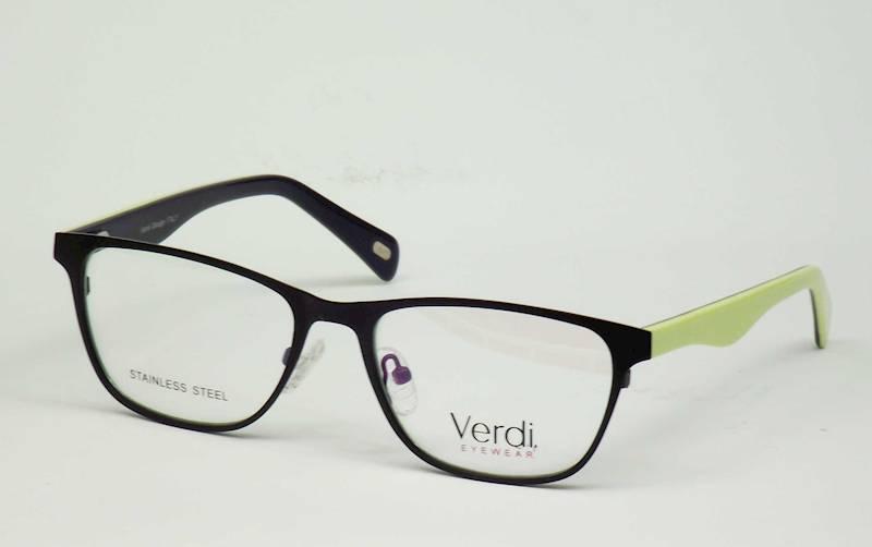 Oprawa okularowa VD1528 C02 Verdi - czar\żółty\nie
